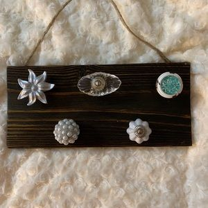 New Hand made Jewelry/Necklace Organizer